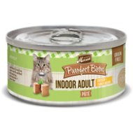 Merrick Purrfect Bistro Indoor Adult Chicken + Turkey Recipe Grain-Free Canned Cat Food, 3-oz, case of 24