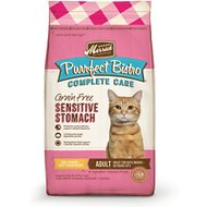Merrick Purrfect Bistro Complete Care Grain- Free Sensitive Stomach Recipe Dry Cat Food, 4-lb bag