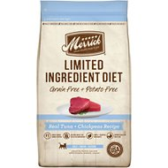 Merrick Limited Ingredient Diet Grain-Free Tuna & Chickpeas Recipe Dry Cat Food, 4-lb bag