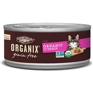 Castor & Pollux Organix Grain-Free Organic Kitten Recipe Canned Cat Food, 5.5-oz, case of 24