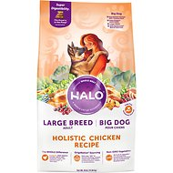 Halo Holistic Chicken Recipe Large Breed Dry Dog Food, 25-lb bag