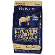 PetKind Tripe Dry Single Animal Protein Lamb & Lamb Tripe Formula Dry Dog Food, 25-lb bag