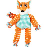 KONG Floppy Knots Fox Dog Toy, Small/Medium