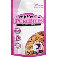 PureBites Salmon Freeze-Dried Raw Dog Treats, 2.47-oz bag