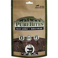 PureBites Beef Jerky Gently Dried Dog Treats, 11-oz bag