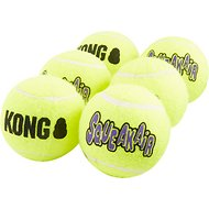 KONG SqueakAir Balls Packs Dog Toy, Medium, 6-pack