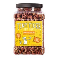 Tiny Tiger Tasty Treats Abra-Ca-Poultry Crunchy Cat Treats, 20-oz jar
