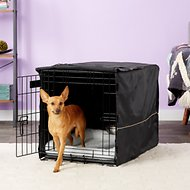 MidWest iCrate Dog Crate Kit, 30-in, Medium, Black