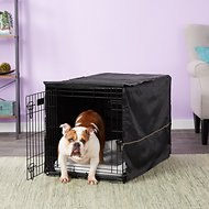 MidWest iCrate Dog Crate Kit, 36-in, Medium/Large, Black