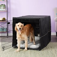 MidWest iCrate Dog Crate Kit, 42-in, Large, Black