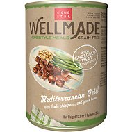 Cloud Star WellMade Homestyle Meals Mediterranean Grill With Lamb Recipe Grain-Free Canned Dog Food, 12.5-oz, case of 12