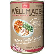 Cloud Star WellMade Homestyle Meals Salmon-Stuffed Chicken Recipe Grain-Free Canned Dog Food, 12.5-oz, case of 12