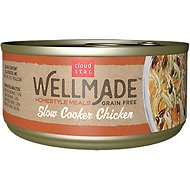 Cloud Star WellMade Homestyle Meals Slow Cooker Chicken Recipe Grain-Free Canned Dog Food, 3.5-oz, case of 24