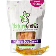 "Nature Gnaws Beef Tendons 4 - 7"" Dog Chews, 12 count"