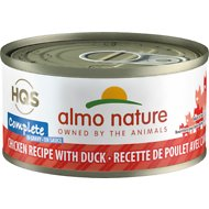 Almo Nature Complete Chicken with Duck Grain-Free Canned Cat Food, 2.47-oz, case of 12