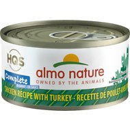 Almo Nature Complete Chicken with Turkey Grain-Free Canned Cat Food, 2.47-oz, case of 12