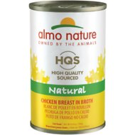 Almo Nature Natural Chicken Breast in Broth Grain-Free Canned Cat Food, 4.94-oz, case of 24