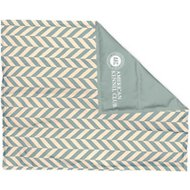 American Kennel Club Cooling Pet Mat, Herringbone Green, X-Large
