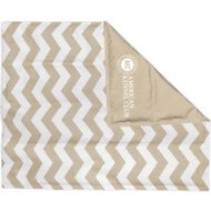 American Kennel Club Cooling Pet Mat, Chevron Tan, X-Large