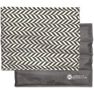 American Kennel Club Cooling Pet Mat, Herringbone Gray, X-Large