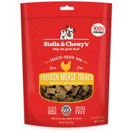 Stella & Chewy's Chicken Breast Freeze-Dried Raw Dog Treats, 2.75-oz bag
