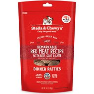 Stella & Chewy's Remarkable Red Meat Recipe Dinner Patties Freeze-Dried Raw Dog Food, 14-oz bag