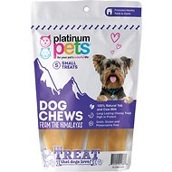 Platinum Pets Dog Chews from the Himalayas Dog Treats, Small