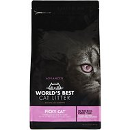 World's Best Picky Cat Advanced Multiple Cat Clumping Cat Litter, 12-lb bag