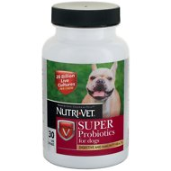 Nutri-Vet Super Probiotics Chewables Dog Supplement, 30 count