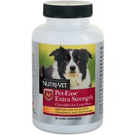 Nutri-Vet Pet-Ease Extra Strength Chewables Large Dog Supplement, 60 count