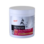Nutri-Vet Tear Stain Pads for Dogs, 90 count