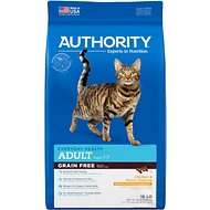 Authority Chicken & Potato Formula Grain-Free Adult Dry Cat Food, 16-lb bag
