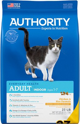 3. Authority Indoor Dry Cat Food