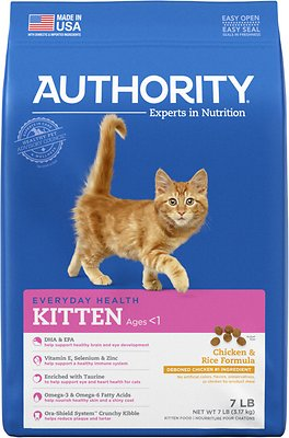4. Authority Kitten Dry Cat Food