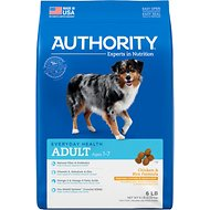 Authority Chicken & Rice Formula Adult Dry Dog Food, 6-lb bag