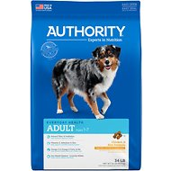 Authority Chicken & Rice Formula Adult Dry Dog Food, 34-lb bag