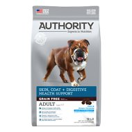 Authority Skin, Coat & Digestive Health Fish & Potato Formula Grain-Free Adult Dry Dog Food, 12-lb bag