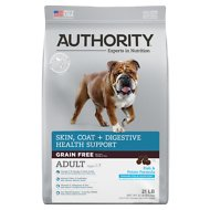 Authority Skin, Coat & Digestive Health Fish & Potato Formula Grain-Free Adult Dry Dog Food, 21-lb bag