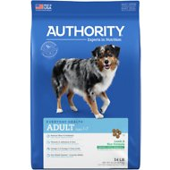 Authority Lamb & Rice Formula Adult Dry Dog Food, 34-lb bag