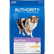 Authority Chicken & Rice Formula Senior Dry Dog Food, 34-lb bag