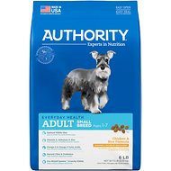 Authority Chicken & Rice Formula Small Breed Adult Dry Dog Food, 6-lb bag