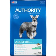 Authority Lamb & Rice Formula Small Breed Adult Dry Dog Food, 34-lb bag