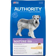 Authority Chicken & Rice Formula Small Breed Mature Dry Dog Food, 18-lb bag