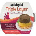 Solid Gold Triple Layer Mousse and Shreds with Real Salmon & Pumpkin Wet Cat Food