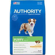 Authority Chicken & Rice Formula Puppy Dry Dog Food, 6-lb bag