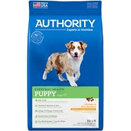 Authority Chicken & Rice Formula Puppy Dry Dog Food, 30-lb bag