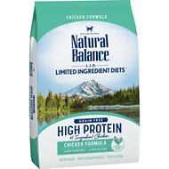 Natural Balance L.I.D. Limited Ingredient Diets High Protein Chicken Formula Dry Cat Food, 11-lb bag