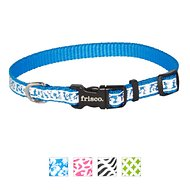 Frisco Patterned Reflective Dog Collar, Hawaiian Floral, X-Small