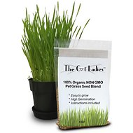 The Cat Ladies Organic Pet Grass Seed, 8-oz bag