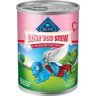 Blue Buffalo Love You Stew Canned Dog Food, 12.5-oz, case of 12